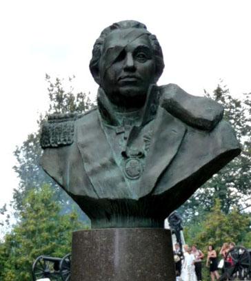 Памятник М.И.Кутузову в Малоярославце. 1987