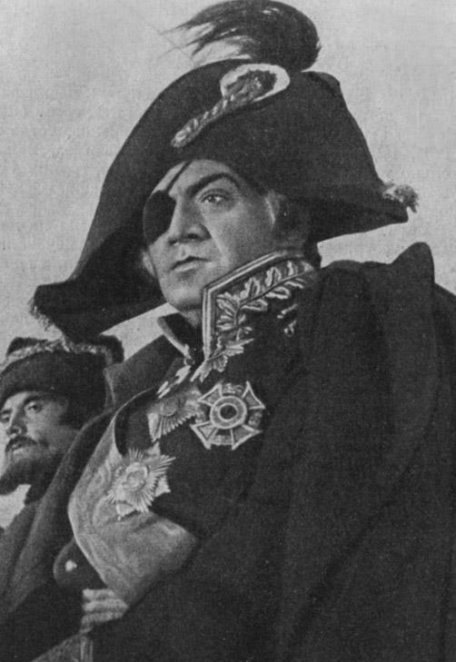 Кадр из фильма «Кутузов». 1944