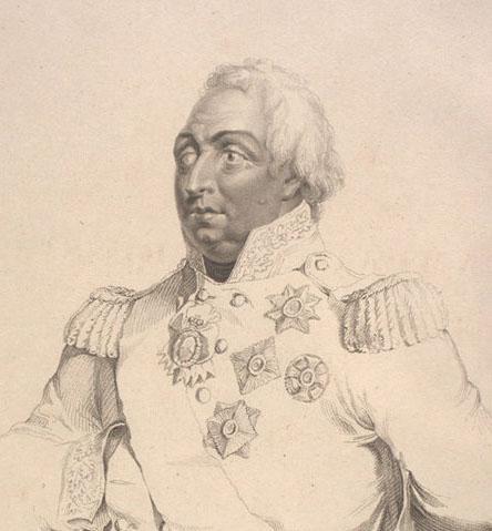 Гравюра Д.Готвуда (фрагмент). 1813