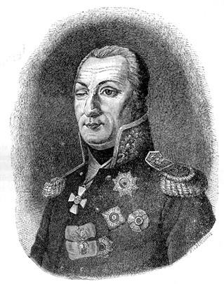 Гравюра Ф.Боллингера по оригиналу К.Розентреттера. 1811