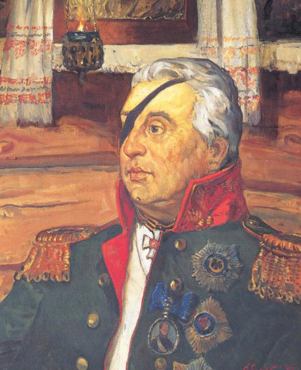 Картина В.М.Сибирского «М.И.Кутузов». 1992.